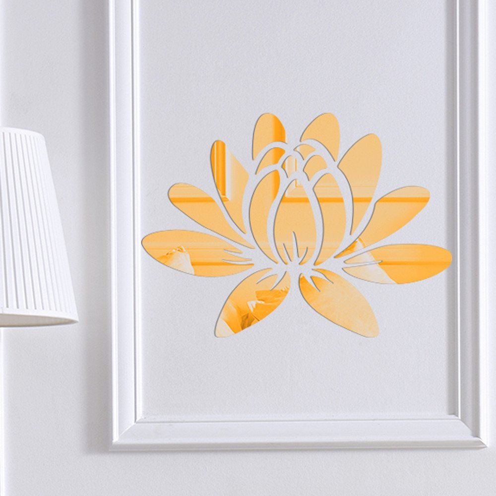 3D DIY Room Decoration Specchio Acrylic Wall Sticker Modern Stickers Decoration