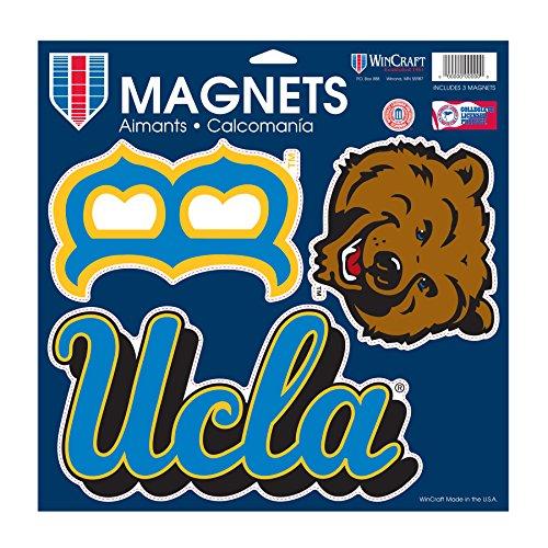 NCAA UCLA Bruins Car/Fan Magnet, Large/11 x 11-Inch, White (Bruins Fan Ucla)