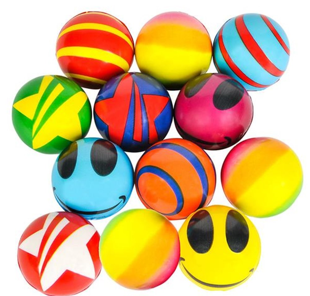 RI Novelty Stress Balls Bulk Value Assortment (50 Pack)