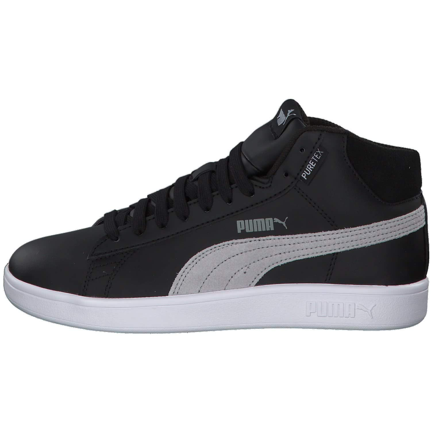 Puma Smash v2 Mid PureTEX JR Kids Unisex Sneaker Black