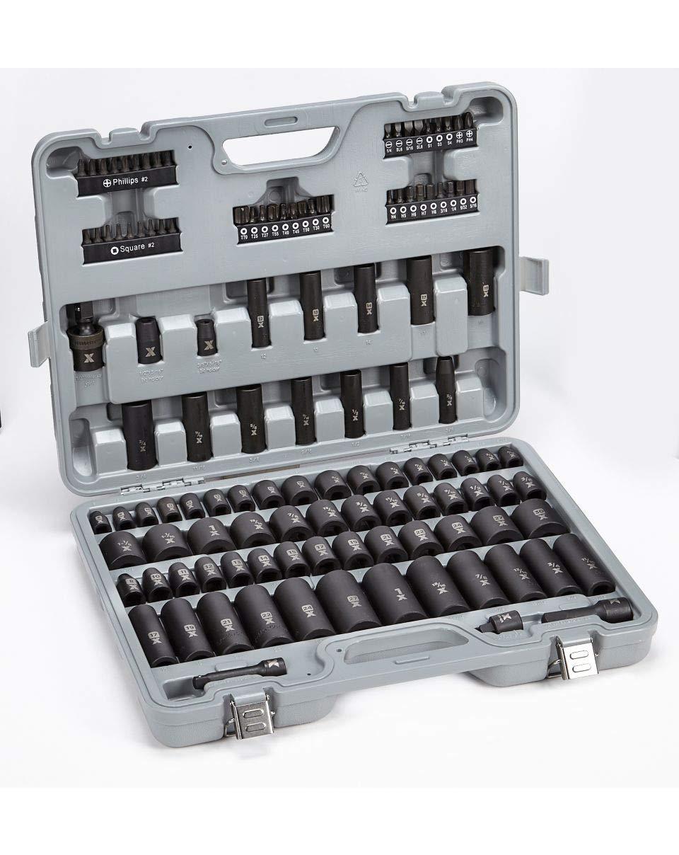 Mastercraft Maximum Impact Socket /& Tool Set 119-pc