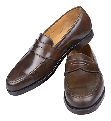4419f0f1f07 C J for Ralph Lauren England Marlow Cordovan Penny Loafers Shoes Size 10   Amazon.ca  Sports   Outdoors