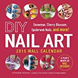 Diy Nail Art 2015 Calendar: Snowman, Cherry Blossom, Spiderweb Nails, and More!