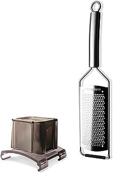 Microplane Gourmet Serie Reibe Küchenreibe Raspel Fingerschutz Auswahl Reibe
