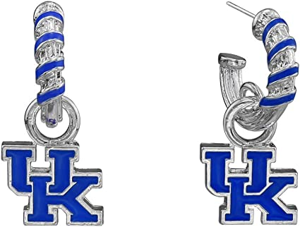 Aminco NCAA Kentucky Wildcats Home State Earrings