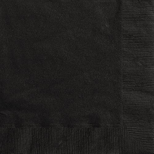 [Black Paper Napkins, 20ct] (S Costume Ideas For Women)