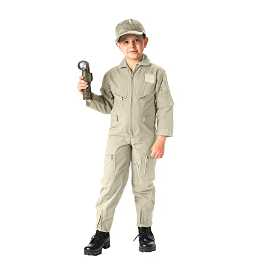 bc8a6e830a88 Amazon.com  Rothco Kids Air Force Type Flightsuit  Sports   Outdoors