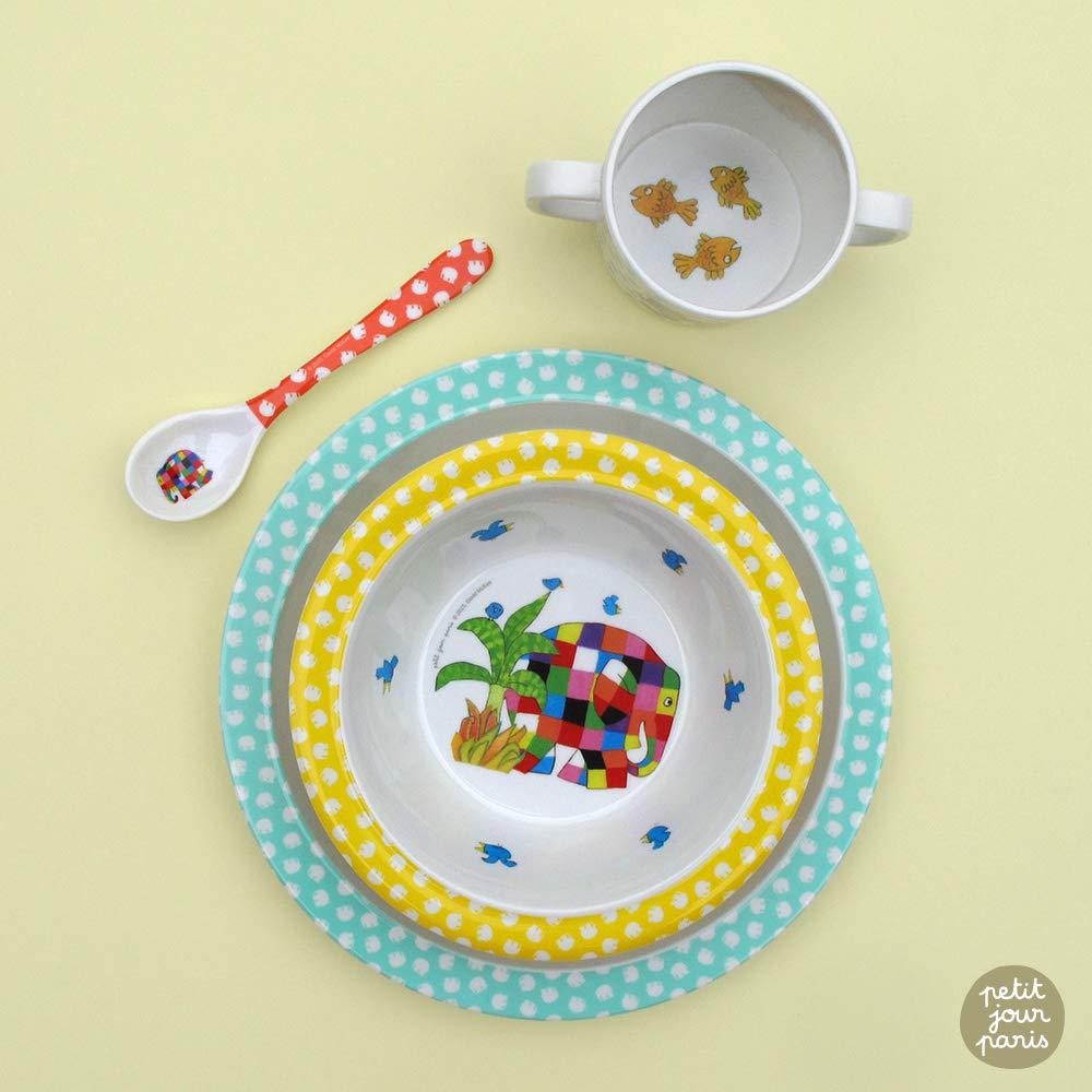 Petit Jour Paris Um wie die Erwachsenen zu essen! Geschirrset Elmar