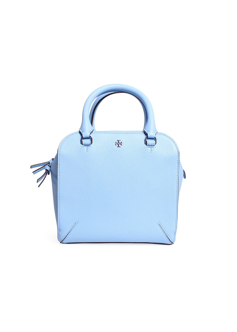89820850f5e Buy Tory Burch Robinson Pebbled Mini Satchel in Riviera Blue Online at Low  Prices in India - Amazon.in