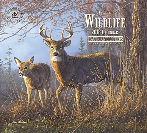 Legacy Publishing Group 2018 12-Month Wall Calendar, Wildlife
