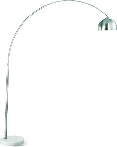 Coaster Home Furnishings Arched Floor Lamp Chrome