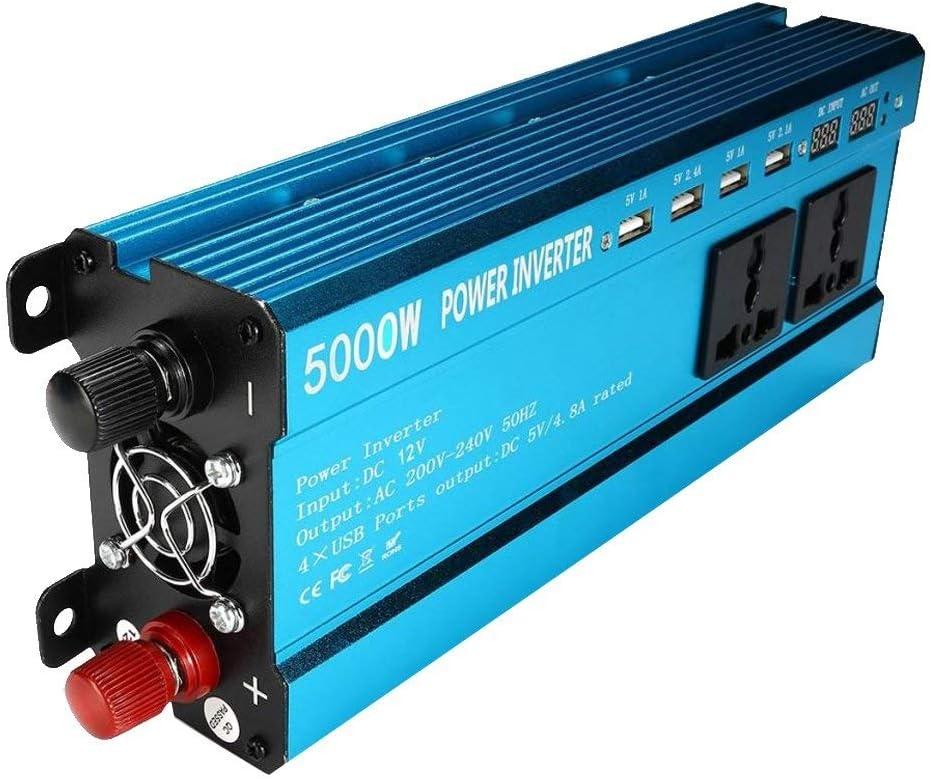 KPL Potenza Inverter a Onda sinusoidale Pura 5000W Solar Power Inverter DC 12V Onda sinusoidale Converter Potenza Inverter a Onda sinusoidale Pura