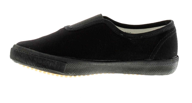 6456b3d29978 Wynsors New Childrens Black Gusset School Pumps (Please Note Sizes 7-5) -  Black - UK SIZES 1-13  Amazon.co.uk  Shoes   Bags