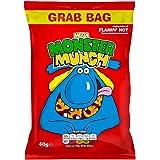 Mega Monster Munch Flamin Hot Snacks 40g (Pack of 30)
