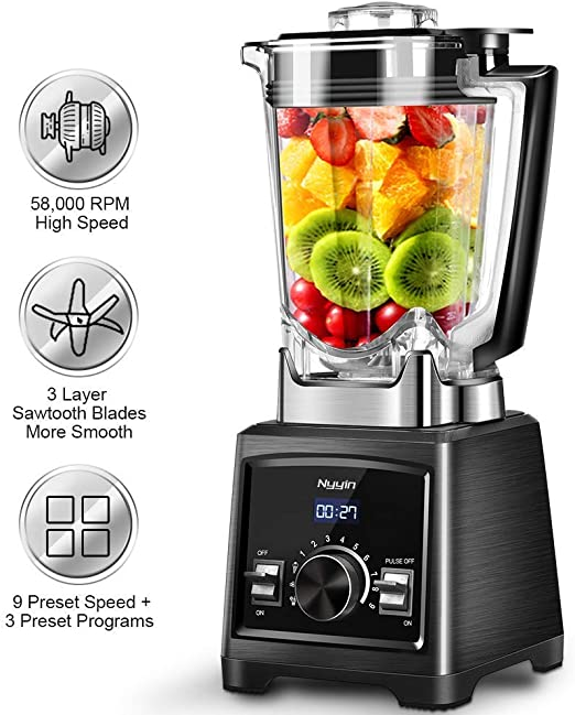 Professional Blender, 1450W Smoothie Blender