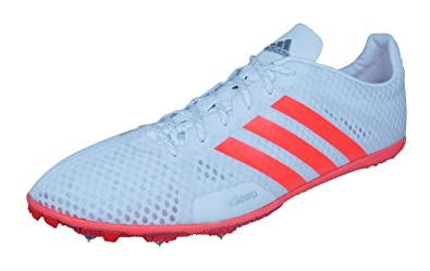 big sale bde8d 127c2 adidas Adizero Ambition 3 Mens Running Spikes Sneakers-White-12.5