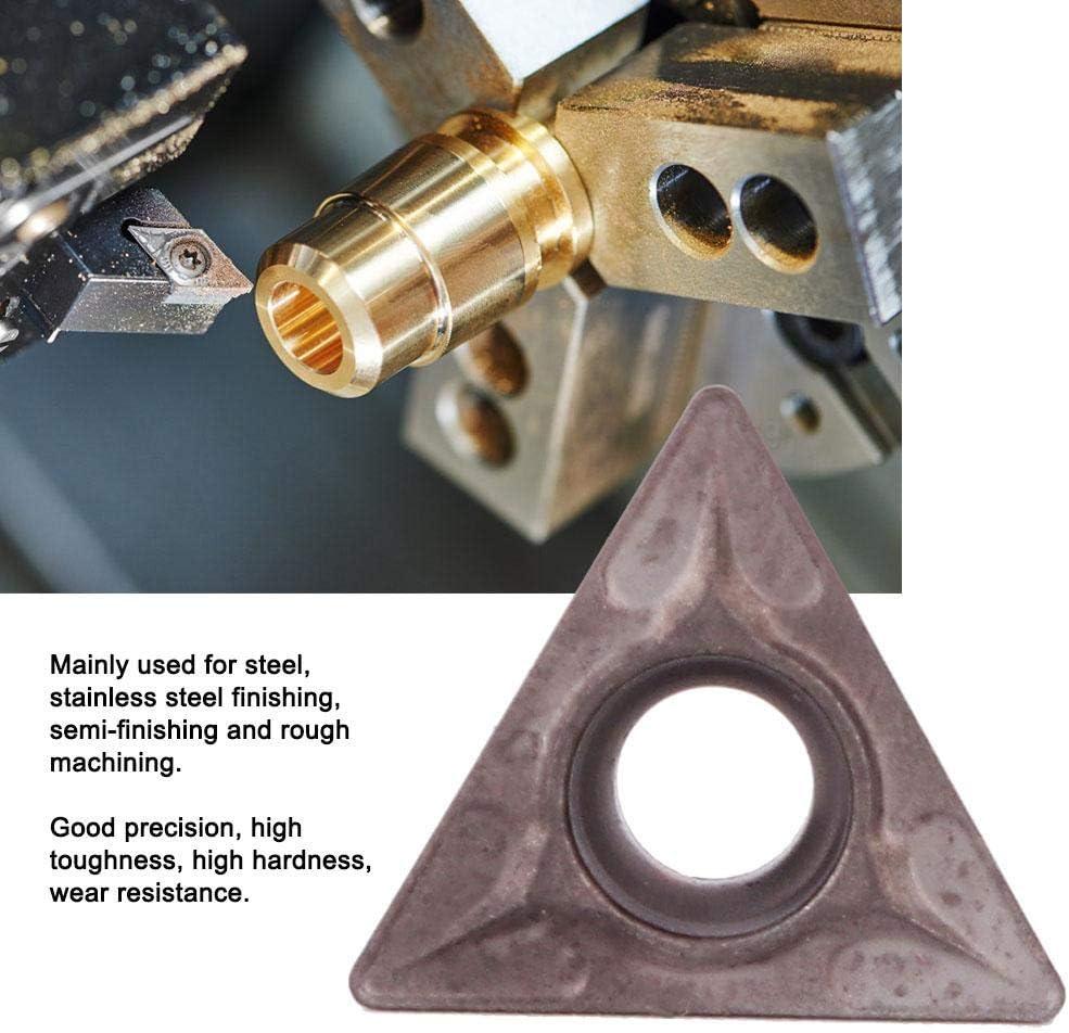 Insert Blades 10 Turning Blades CNC Insert Rough Machining Semi-finishing for Steel Stainless Steel Finishing