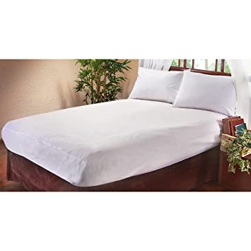Amazon Com Bed Bug Barrier Mattress Cover Full Size Home Kitchen