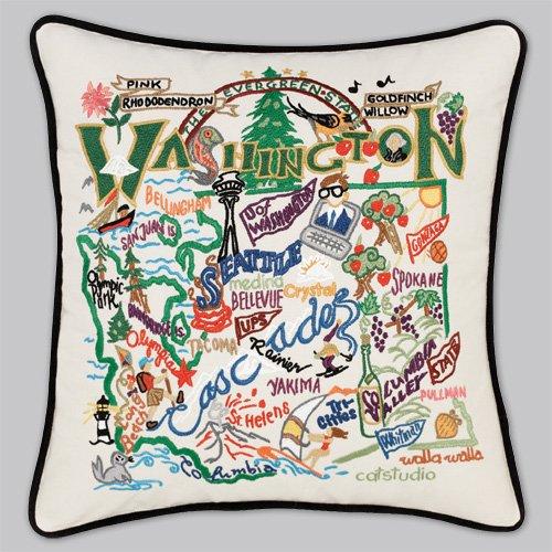Washington Pillow (Catstudio Washington State Pillow)