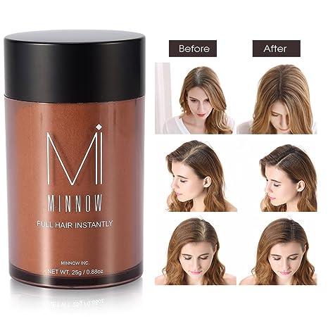 Fibras Capilares Fibras de pelo corrector engrosamiento del pelo fibras de construcción en polvo para hombres