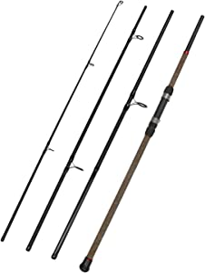Fiblink Surf Spinning Fishing Rod 4-Piece Graphite Travel Fishing Rod (9-Feet & 10-Feet)