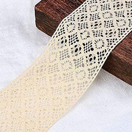 Cintas de encaje para manualidades notas vintage 1# IDONGCAI bordes de encaje de algod/ón