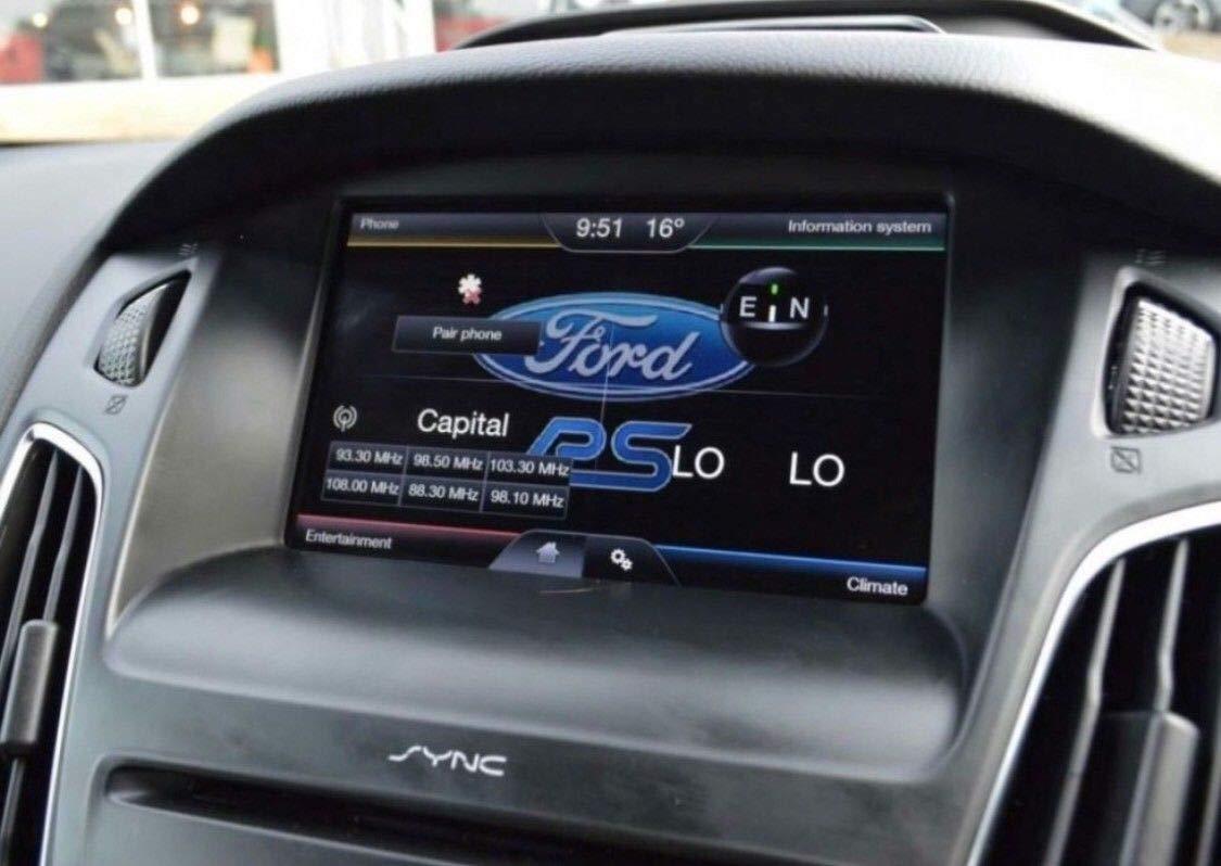 Ford 2018-2019 SyNC2 Carte de Navigation SD pour Europe