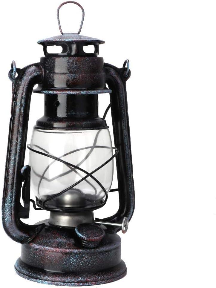 9.4in Classic Kerosene Lamps Vintage Kerosene Lantern Oil Lamp Portable Outdoor Camping Lights Retro Mast Head Light Home Decoration Ornaments HEEPDD Kerosene Lamp