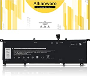 Allianwere 8N0T7 Laptop Battery Compatible with Dell XPS 15 9575 2-in-1 15-9575-D1805TS D1605TS D2801TS D2605TS i5-8305G i7-8705G Precision 5530 2-in-1 Ultrabook Notebook 8NOT7 8N0T7 0TMFYT TMFYT P73F