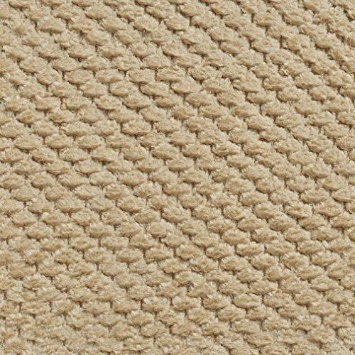 E144 Sand Soft Textured Plush Woven Upholstery Chenille Velvet Fabric By The Yard - Sand Microfiber Sofa