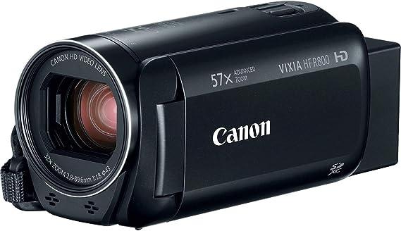 Canon VIXIA HF R800 Full HD Camcorder with 57x Advanced Zoom