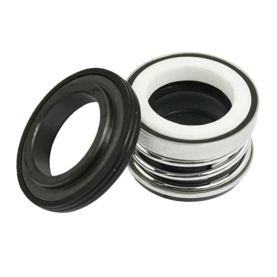 2 piezas 20 mm pastillas de Bobinado Simple mecá nica de muelle sello de recambio para bomba de agua Sourcingmap a12040600ux0456