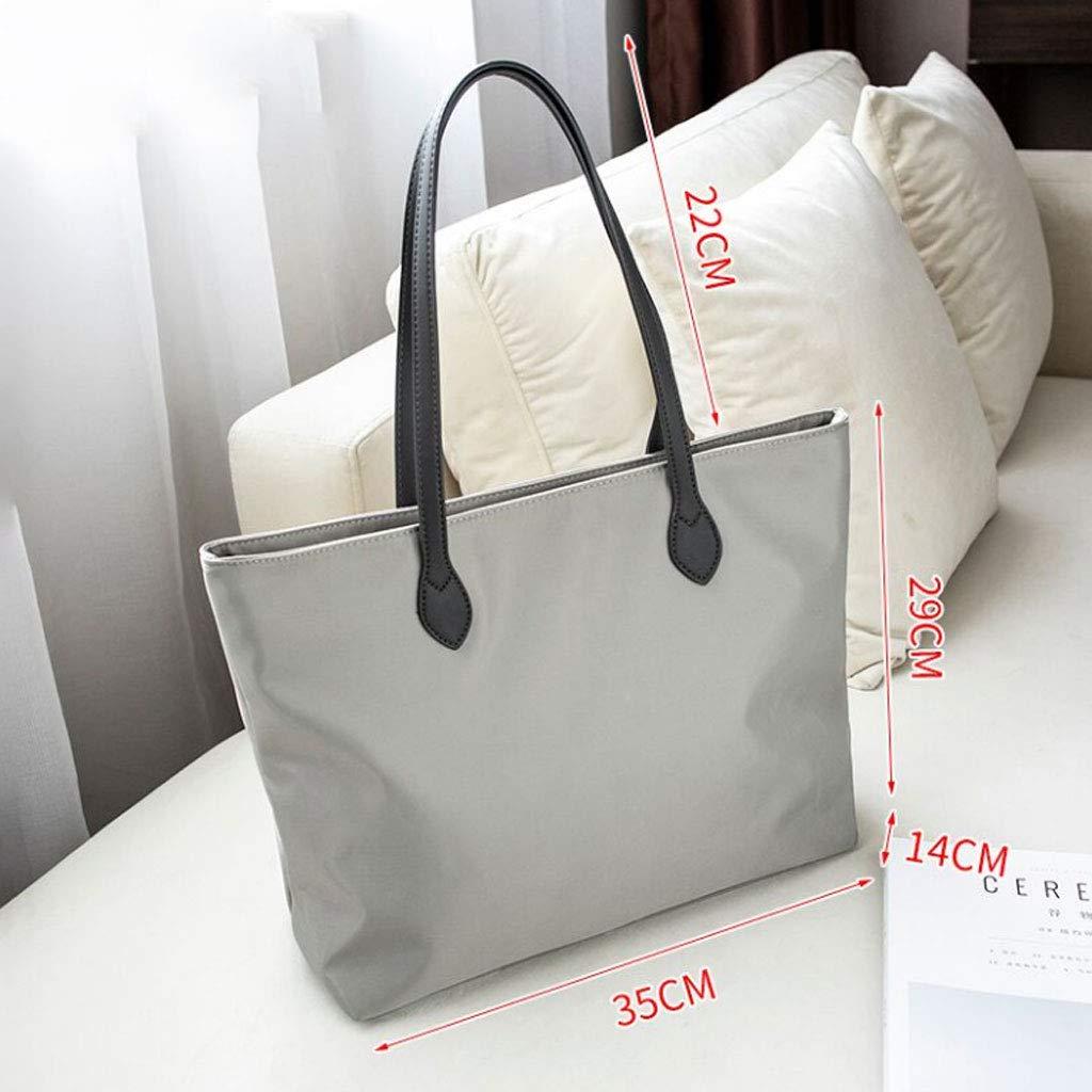 Canvas Bag Messenger Bag Shoulder Bag Large Capacity Bag 35x14x29cm Color : Gray, Size : 35x14x29cm NJ Handbag