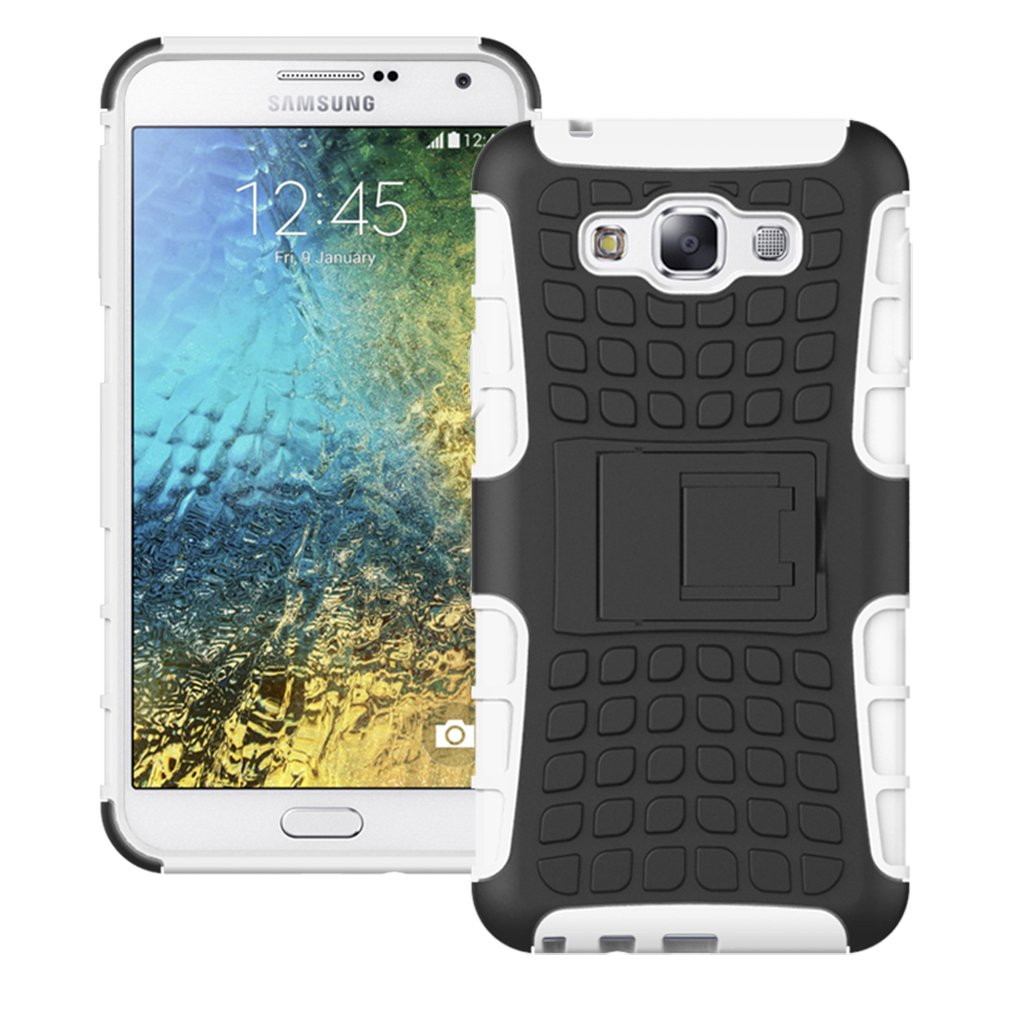 Galleon Samsung Galaxy E7 Caseboiskin Dual Layer Combo Heavy Duty Matte Shockproof Cover Protective Armor Defender Rugged Hybrid Case With Build In