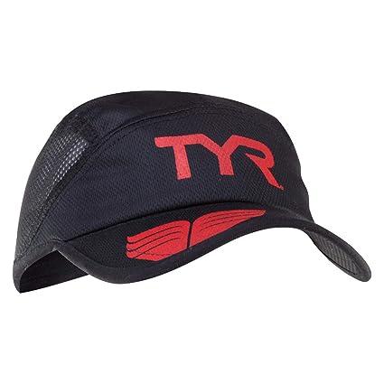 3e5795760fd4aa Amazon.com : TYR Competitor Running Cap, Black : Baseball Caps ...
