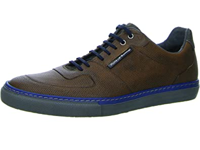 0a844e154f Floris van Bommel Men s Trainers Brown Size  10.5  Amazon.co.uk ...