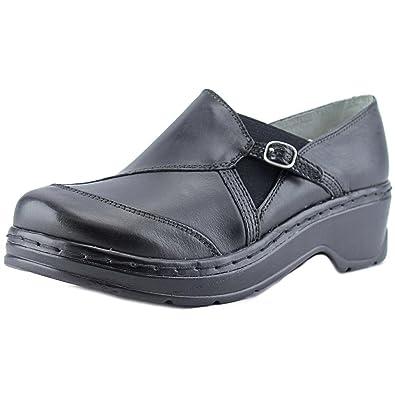 Klogs Footwear Women's Camd Black Smooth Clog/Mule 6 M ...