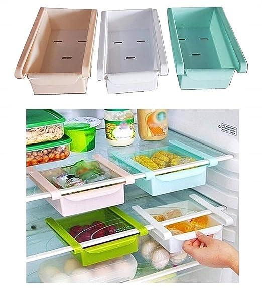 Lovelegis Organizador del refrigerador - Ahorro de Espacio - cajón ...