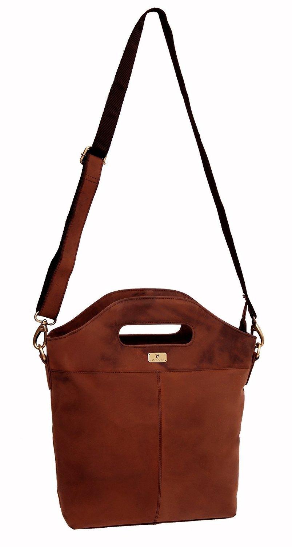 DH Genuine Soft Buffalo Leather Tote Bag Elegant Shopper Shoulder BagSALE by Devil Hunter (Image #4)
