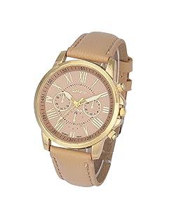Watch,Baomabao Women's Roman Numerals Faux Leather Analog Quartz Wrist Watch