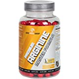 BWG Premium Arginine Master Formula (L-Arginin Base), hochdosiert, Elite Line, 120 Kapseln, 1er Pack (1 x 100g Dose)