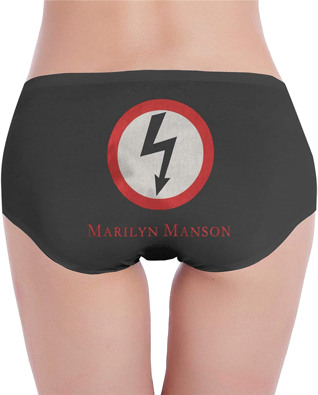 Womens Marilyn Manson Underwear Cotton Underwear Regular.
