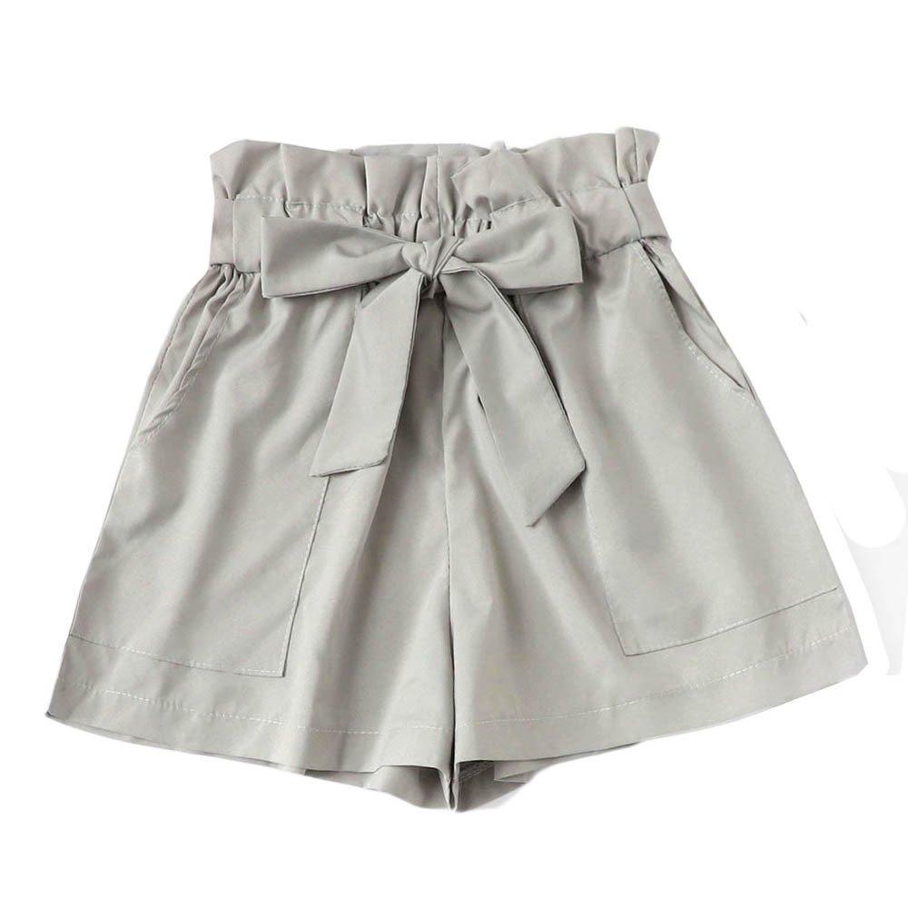 Mecohe Pantaloncini Donna Eleganti, Fashion Pocket Sciolto Hot Pants Pantaloncini Corti Estivi Pantaloncini Sportivi Donna Casual Shorts SHP-653