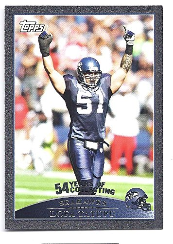5336869d7 LOFA TATUPU 2009 Topps  153 BLACK PARALLEL Card  07 of only 54 Made ...