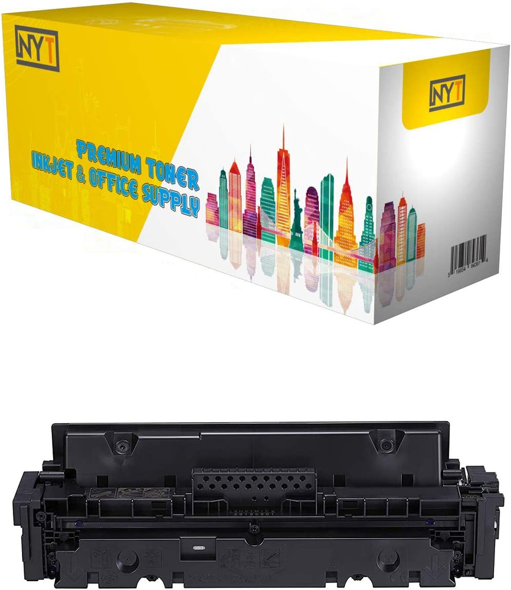NYT Compatible NO CHIP Toner Cartridge Replacement for HP W2020A M454dn M479fdn for HP Color Laserjet Pro MFP M479fdw M454dw Black,1-Pack M454 HP 414A