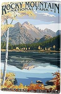 LEotiE SINCE 2004 Tin Sign Metal Plate Decorative Sign Home Decor Plaques Adventurer Rocky Mountain National Park