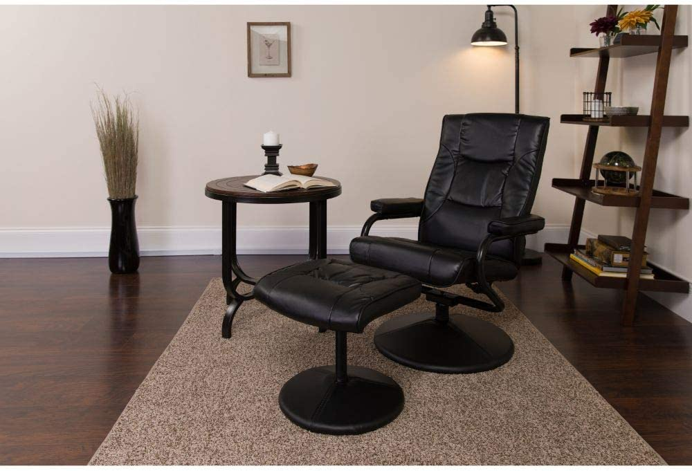 Flash Furniture BT-7862-BK-GG Leather Padded Recliner