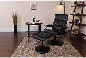 Flash Furniture Black LeatherSoft Recliner