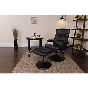 Flash Furniture Love Seats, Black