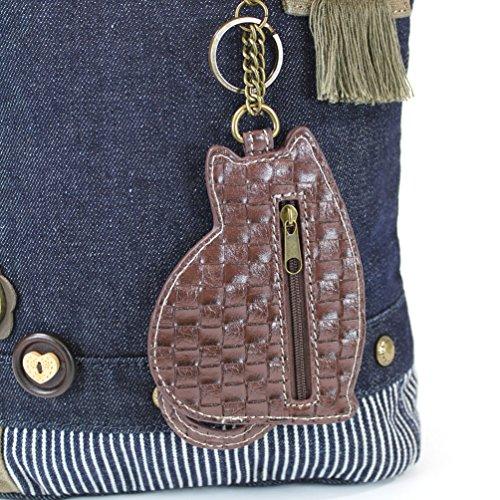 Denim Options Chala LaZzy Patch Cotton 6 with Bags Color Messenger Cat Canvas wOv4qwP
